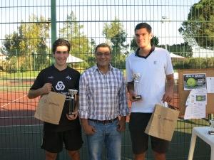 André Caiado (Vencedor), João Arraiolos (Vereador CMA), David Monteiro (Finalista)